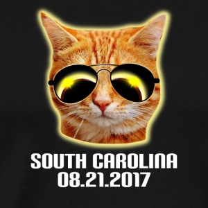 Total Solar Cat Eclipse South Carolina 21.08.2017 - Men's Premium T-Shirt