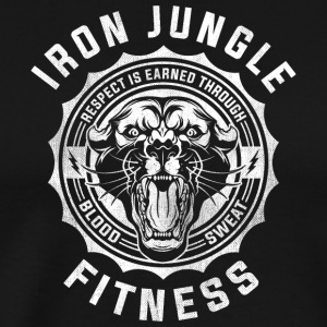 Iron Jungle Fitness - Men's Premium T-Shirt