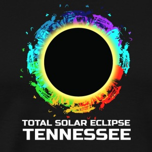 Colorful Total Solar Eclipse Tennessee 08.21.2017 - Men's Premium T-Shirt