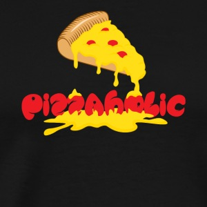 Pizzaholic - Men's Premium T-Shirt