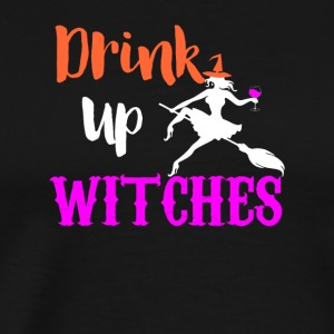 Drink Up Witches - Men's Premium T-Shirt