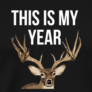310This is my year Deer shirt - Men's Premium T-Shirt