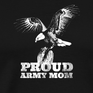 Womens Distress Proud United States Army Mom - Men's Premium T-Shirt
