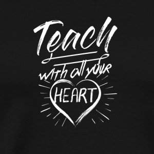 Teacher Back To School Teaching Appreciation Gift - Men's Premium T-Shirt