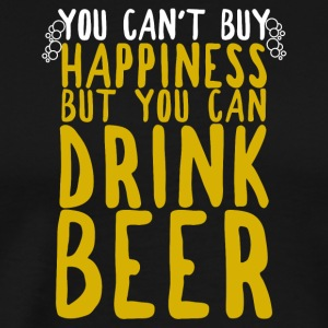 You can't buy happiness, but you can drink beer! - Men's Premium T-Shirt