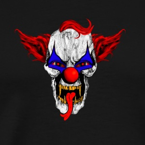 Horror vampire clown gift - Men's Premium T-Shirt