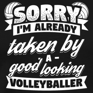 Funny Volleyball Player Shirt Already Taken - Men's Premium T-Shirt