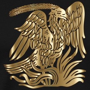Gold Phoenix - Men's Premium T-Shirt
