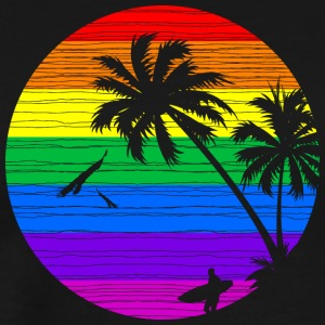 Rainbow Summer V II - Men's Premium T-Shirt