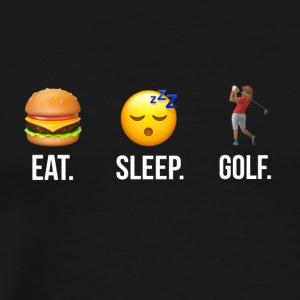 Eat Sleep Golf Women - Men's Premium T-Shirt