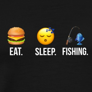 Eat Sleep Fishing - Men's Premium T-Shirt