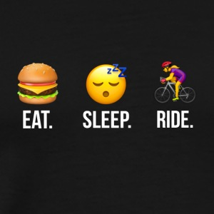 Eat Sleep Ride Women - Men's Premium T-Shirt