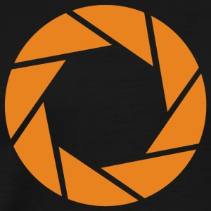 Aperture Science - Orange - Portal - Men's Premium T-Shirt