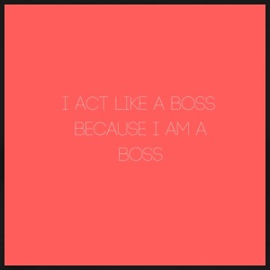 I act like a boss Because I am A boss Shirt - Men's Premium T-Shirt