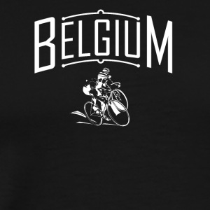 Bicycle. Belgium Roadbike. Cyclocross. Bike - Men's Premium T-Shirt
