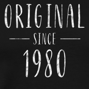 Original since 1980 distressed - Born in 1980 - Men's Premium T-Shirt