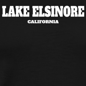 CALIFORNIA LAKE ELSINORE US EDITION - Men's Premium T-Shirt