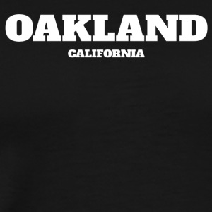 CALIFORNIA OAKLAND US EDITION - Men's Premium T-Shirt
