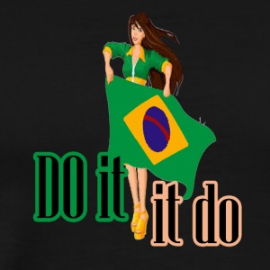 do it girls flags - Men's Premium T-Shirt