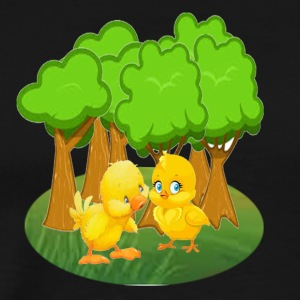 duck and kid - Men's Premium T-Shirt