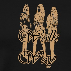walk way - Men's Premium T-Shirt