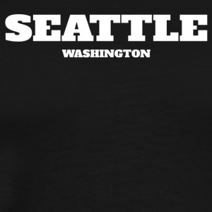 WASHINGTON SEATTLE US EDITION - Men's Premium T-Shirt