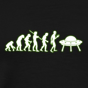 Human Evolution Alien - Men's Premium T-Shirt