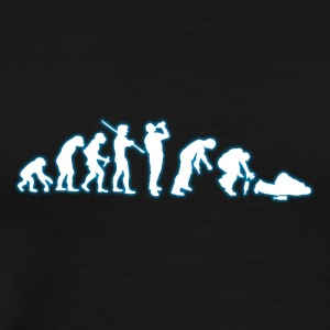 Human Evolution Certified drinker - Men's Premium T-Shirt