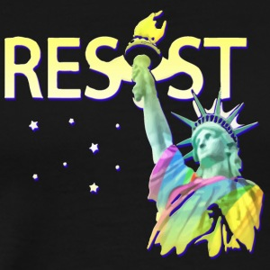 LGBT RESIST USA - Men's Premium T-Shirt