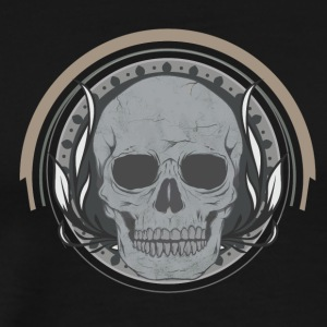 Skull cool poison for hard men or women - Men's Premium T-Shirt