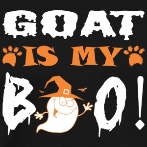 Goat Is My Boo Happy Halloween - Men's Premium T-Shirt