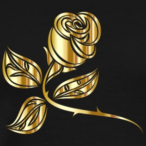 Gold Rose - Men's Premium T-Shirt