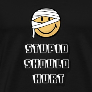 Stupid shirt - Men's Premium T-Shirt