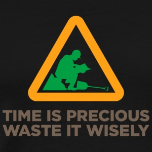 Waste Your Time Wisely - Men's Premium T-Shirt