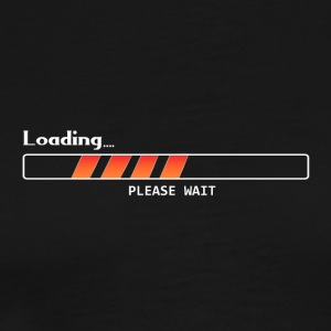 Loading bar please wait gift - Men's Premium T-Shirt