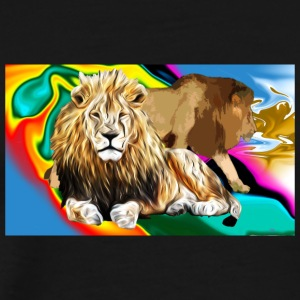 Lion Majesty - Men's Premium T-Shirt