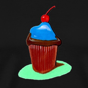Cupcake, all that cupcake with a cherry on top - Men's Premium T-Shirt