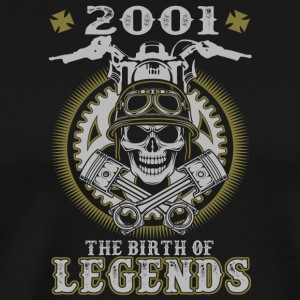 2001 The Birth Of Legends - Men's Premium T-Shirt