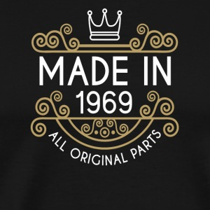 Made In 1969 All Original Parts - Men's Premium T-Shirt