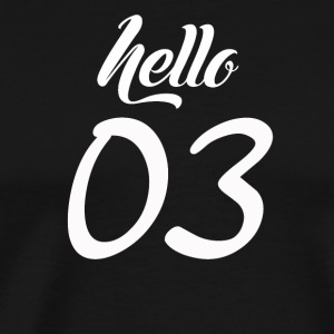 Hello 03 - Men's Premium T-Shirt