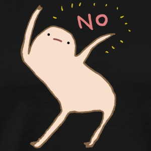 Honest Blob Says No - Men's Premium T-Shirt