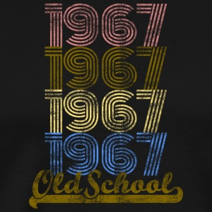 Old School 1967 Vintage Retro Shirt - Men's Premium T-Shirt