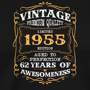 Limited Edition 1955 62 years of awesomeness - Men's Premium T-Shirt