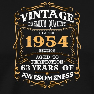 Limited Edition 1954 63 years of awesomeness - Men's Premium T-Shirt