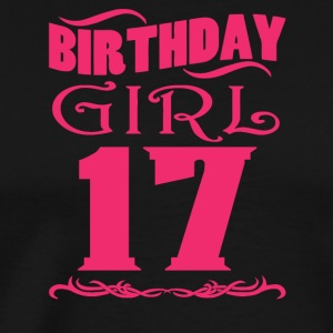Birthday Girl 17 years old - Men's Premium T-Shirt