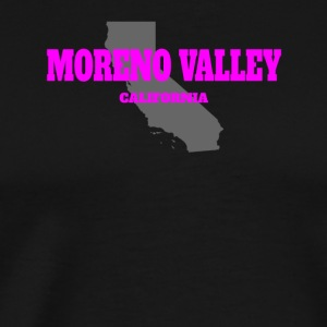 CALIFORNIA MORENO VALLEY US STATE EDITION PINK - Men's Premium T-Shirt