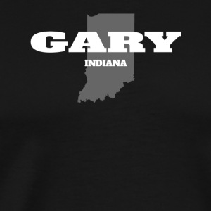 INDIANA GARY US STATE EDITION - Men's Premium T-Shirt