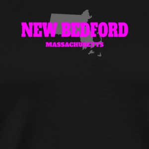 MASSACHUSETTS NEW BEDFORD US STATE EDITION PINK - Men's Premium T-Shirt