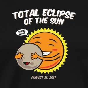 Cute Guess Who Total Solar Eclipse of the Sun T Sh - Men's Premium T-Shirt