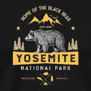 Yosemite National Park California T shirt Vintag - Men's Premium T-Shirt